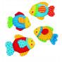 Knuffel:Vismetknisperfolie katoen Vanaf 3 maanden